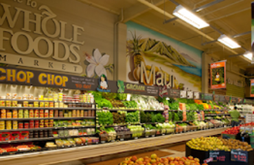 rayon du magasin WholeFoods