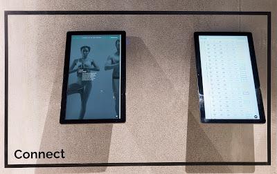 deux écrans dans la salle de sport Episod